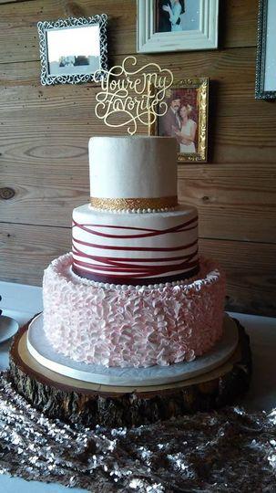Multi-flavor cake
