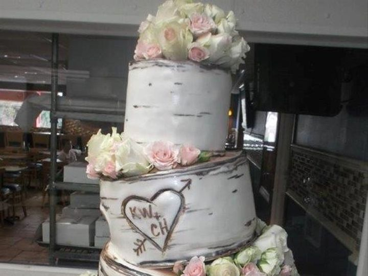 Tmx 1460730233162 Lovers Tree Cake Tampa, FL wedding cake