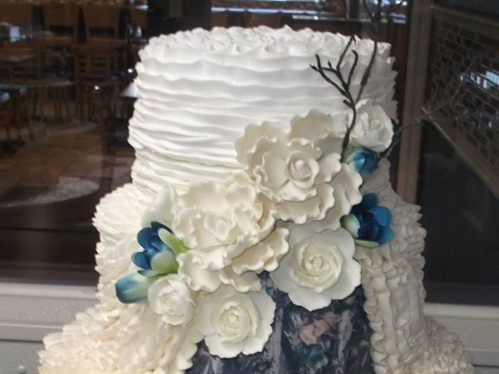 Tmx 1460730296998 Wedding Flower Tampa, FL wedding cake