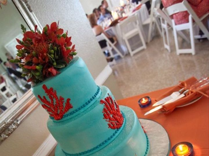 Tmx 1463682147839 Blue Cake Tampa, FL wedding cake