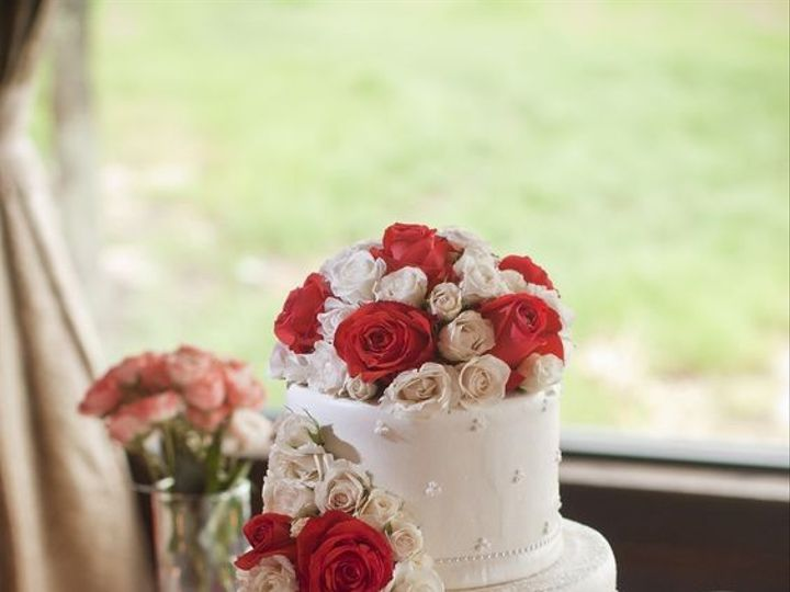 Tmx 1463682153523 Rose Cake Tampa, FL wedding cake