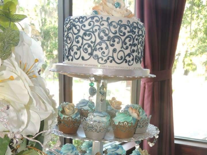 Tmx 1463682330792 Facebook1463625644902 Tampa, FL wedding cake