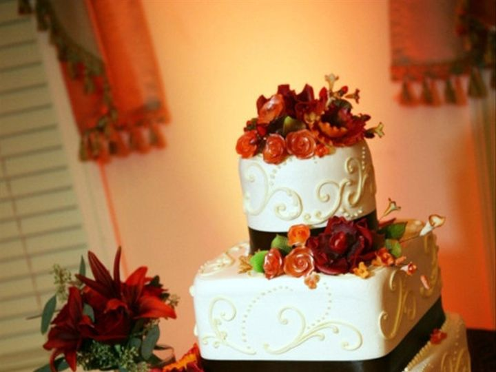 Tmx 1476798313560 Fall Wedding Cke Tampa, FL wedding cake
