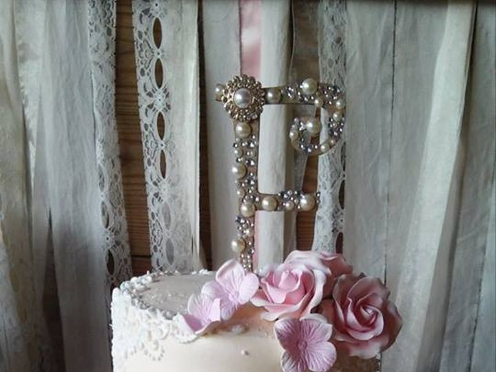 Tmx 1485284275052 Pink Wedding Cake Tampa, FL wedding cake