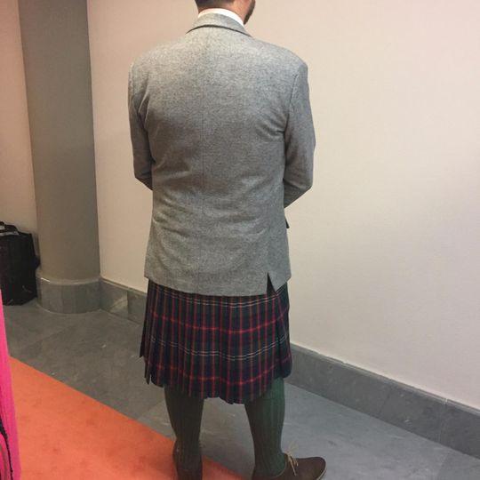 Scottish suit