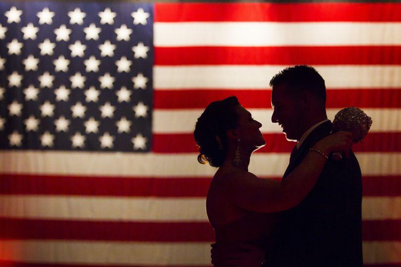 Wedded couple