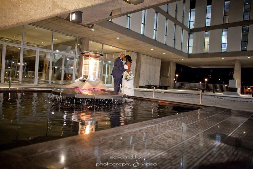 Reflecting Pool at the WMC