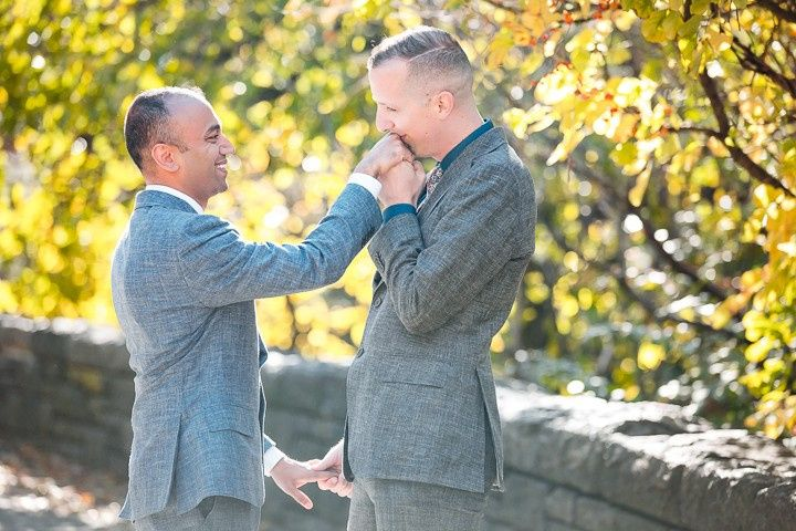 Fort Tryon wedding - Jamerlyn Brown Photography