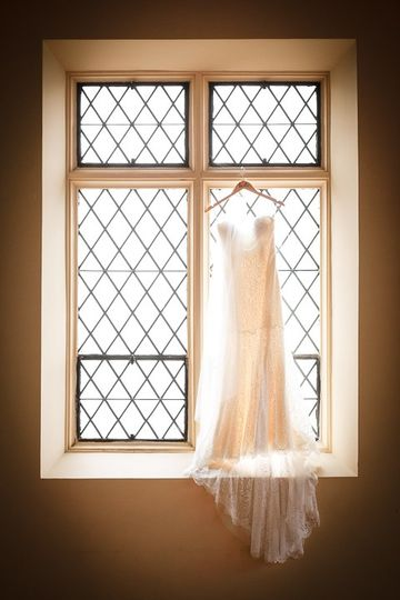 Bride's dress - Jamerlyn Brown Photography