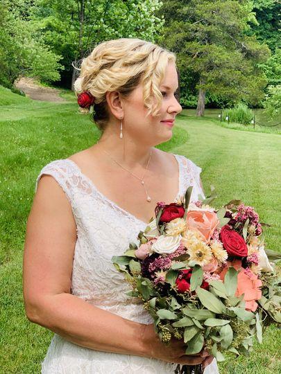Summer Bridal Hair & MU