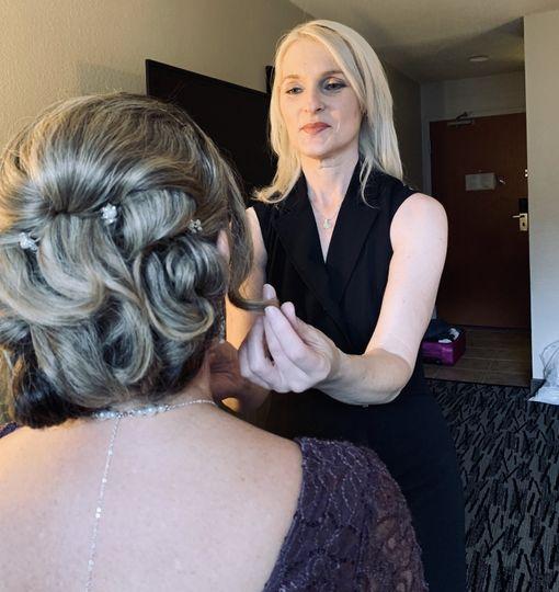 Behind the scenes, Wedding Day
