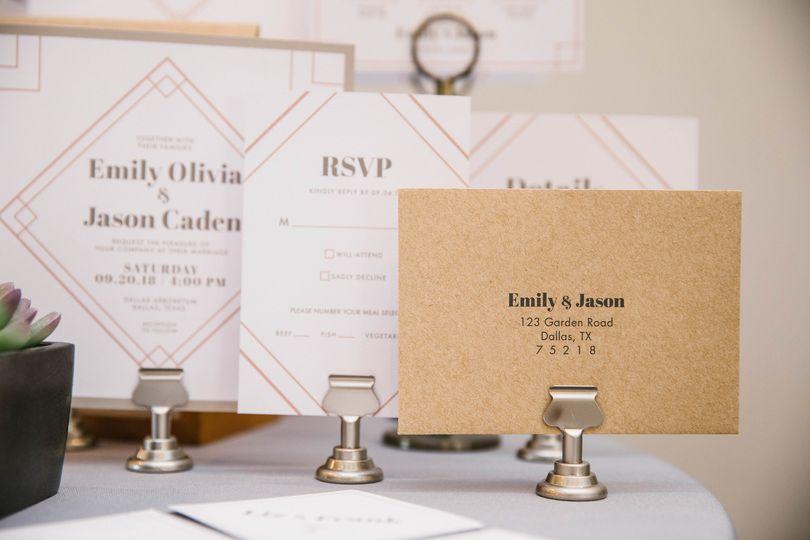 Art Deco Wedding Showcase