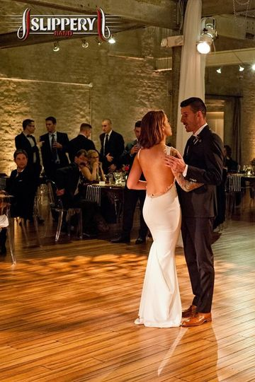 First dance time.
