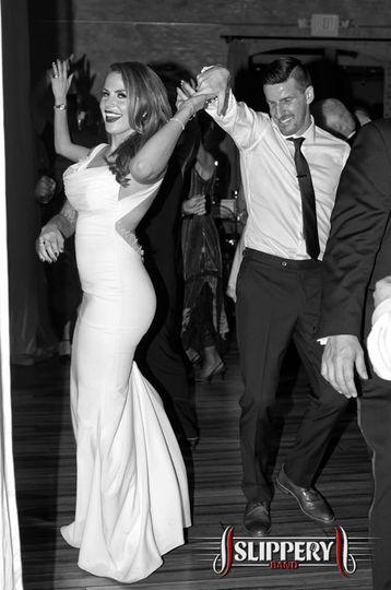 Kendall & Sebastien on the dance floor.