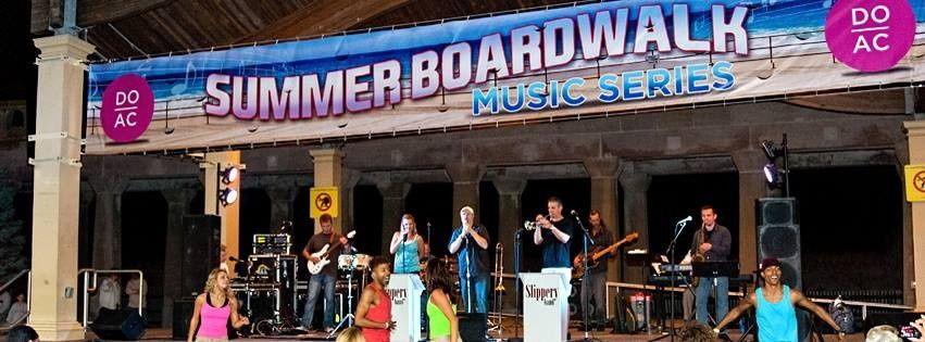Slippery Band summer concert on the Boardwalk.