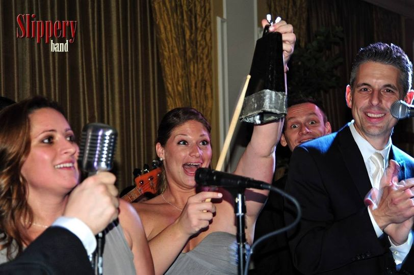Evidently we really did need more cowbell. This bridesmaid was more than up to the task.