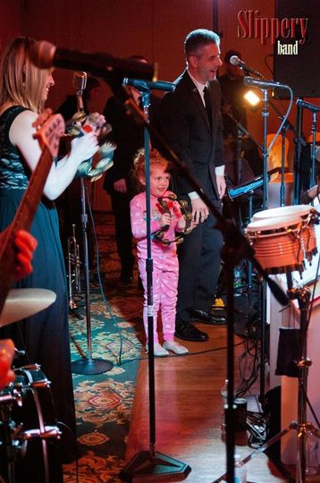 Very special (and tiny) guest performer!