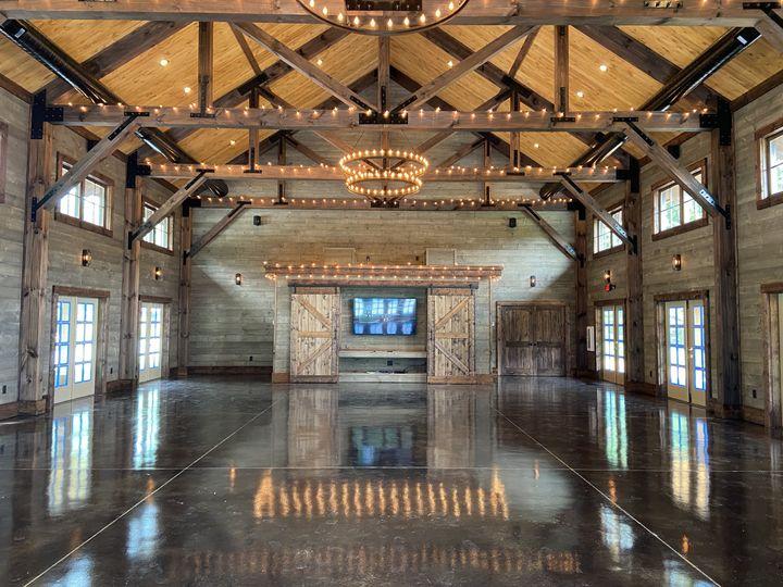 Event Barn Interior