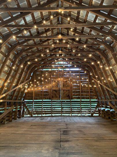 Old Red Barn Interior