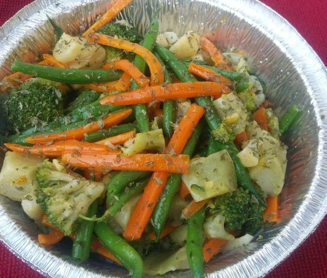 Seasonal sauteed vegetables