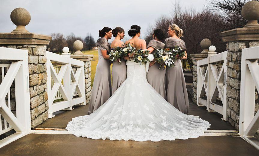 The bride's friends