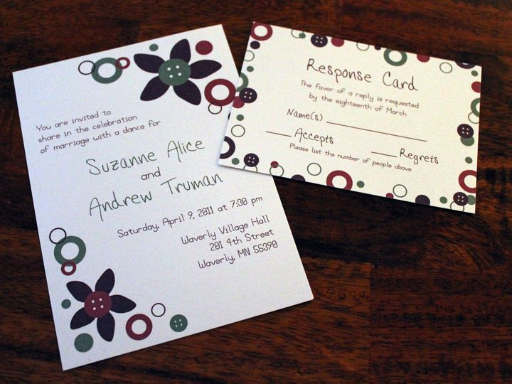 Tmx 1463865614655 Img0360 Monticello wedding invitation
