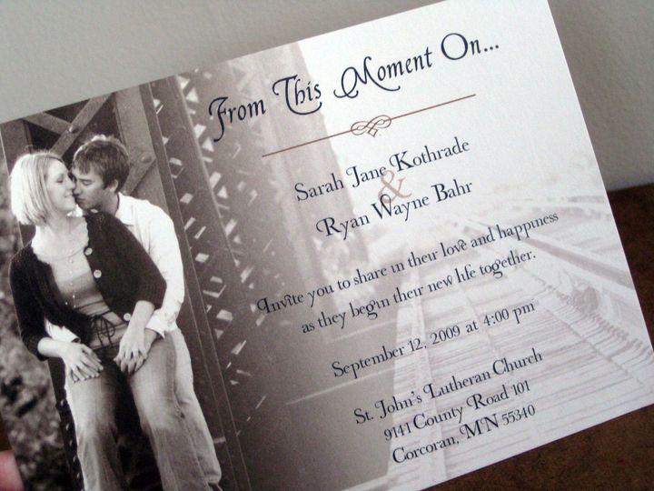 Tmx 1463866168265 Img1876 Monticello wedding invitation