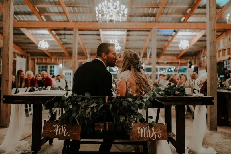 Carriage House barn, reception