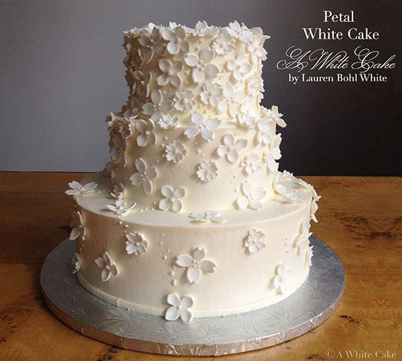 Petal three layered cake
