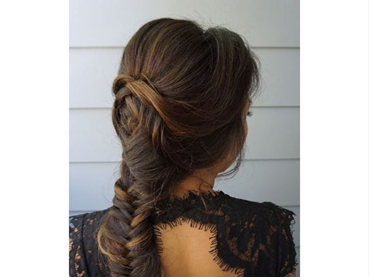 Tmx Gorgeous Fishbraid Updo On My Lovely Client A Few Weeks Back I Used My Favorite Go To Tool For Some Loose Waves 51 1118371 1569891738 Pleasanton, CA wedding beauty