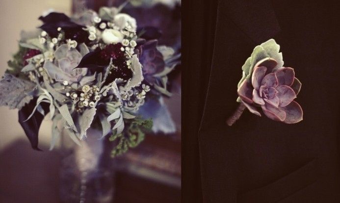 Bridal Bouquet & Boutonniere