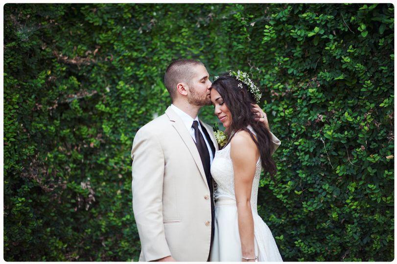 bride and groom mike jordan hummingbird house