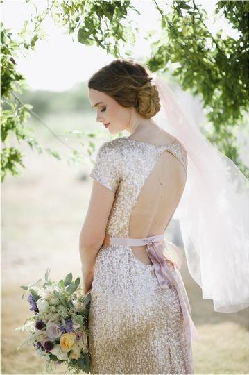bohemian boho glam styled wedding bride session he