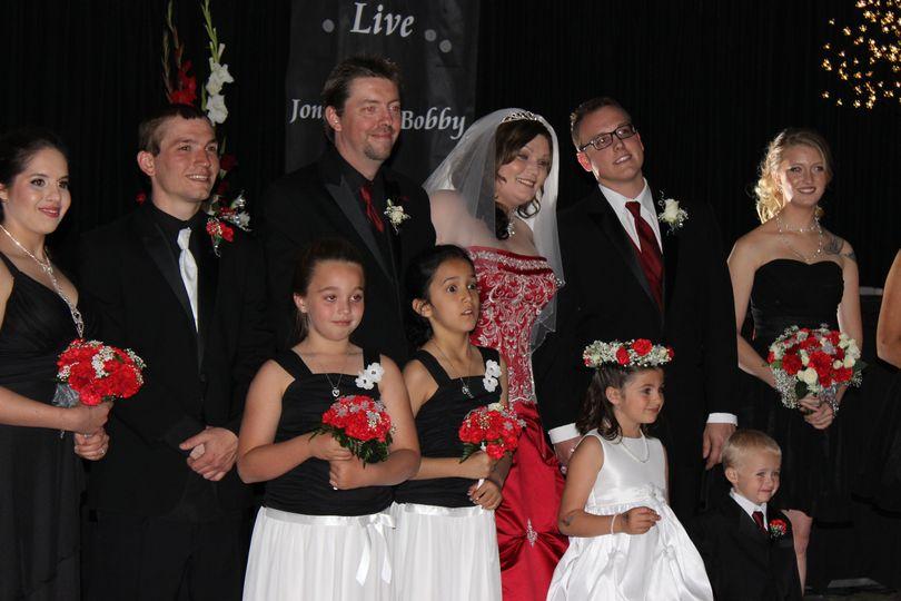 Jontay & Bobby Wedding Party