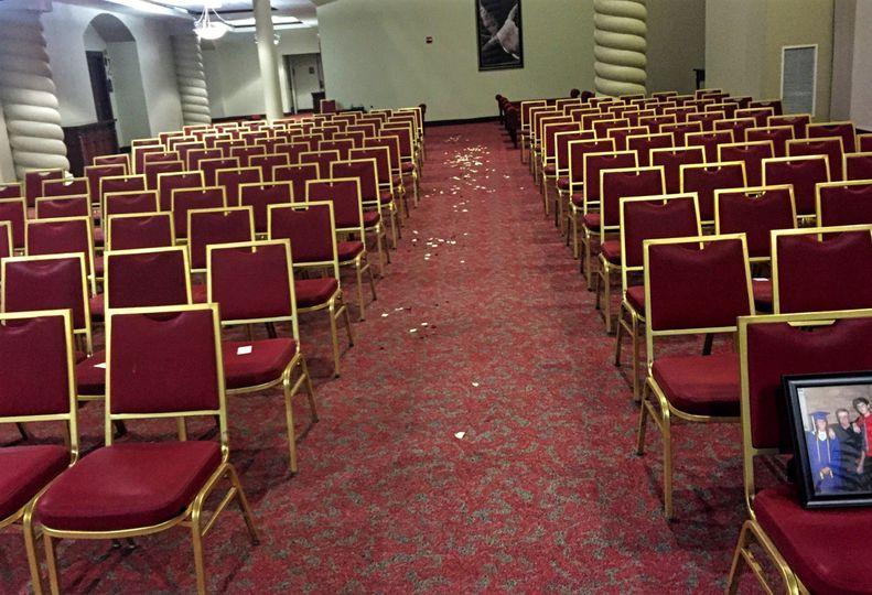 Chairs arrangements
