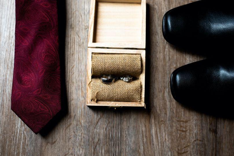 His wedding details