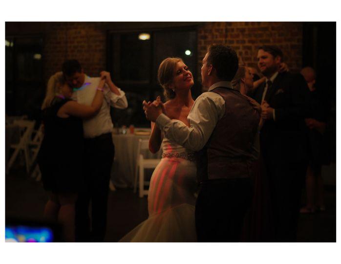 Couples on the dance floor