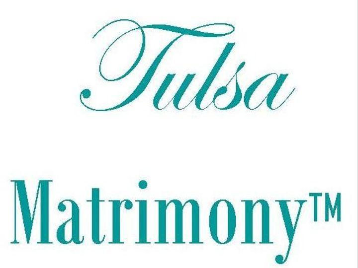 Tmx 1397492151823 Tulsa Matrimony Logo Larg Tulsa wedding officiant