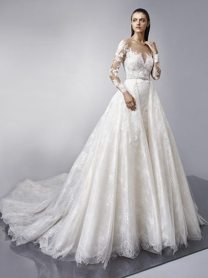 "Enzoani	Mallory		""Classic design and timeless elegance are taken to a whole new level with this..."
