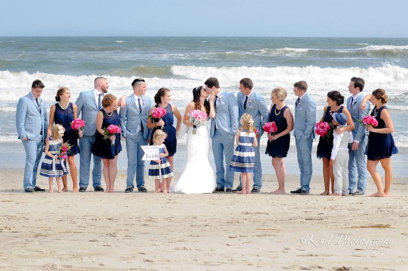 Beach Bridal PartySea Isle, NJ