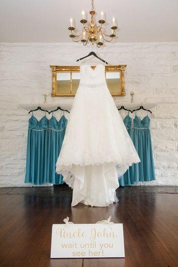 Wedding and Bridesmaids Dress
