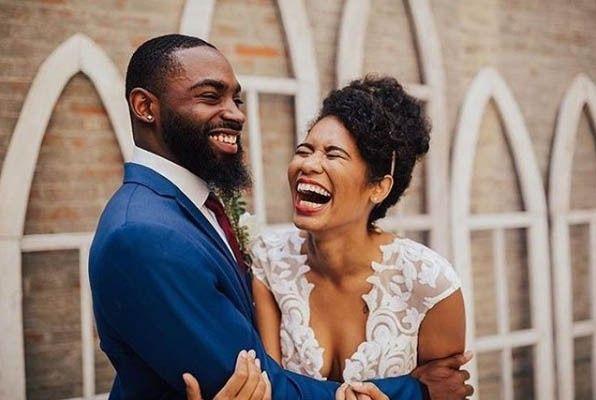 Laughing Wedding