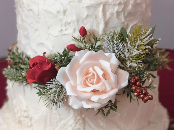 Tmx Winter Flower 51 1885471 157741884636302 Somerville, MA wedding cake