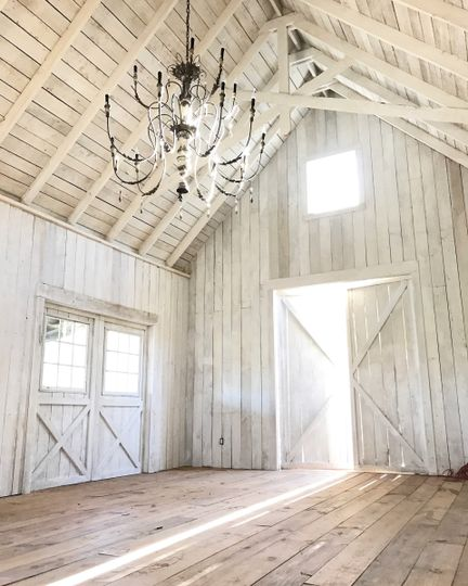 The White Oak Stables is our climate controlled ceremony and reception space with seating for up to...