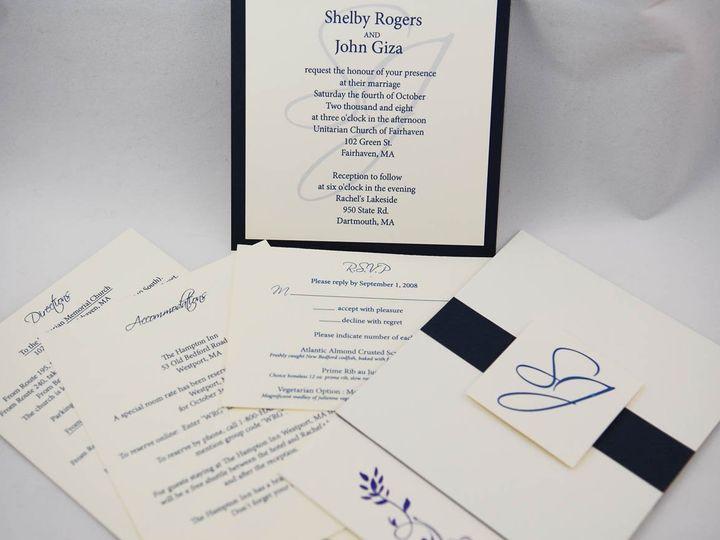 Tmx 1344344276446 GizaWeddingWire Littleton wedding invitation