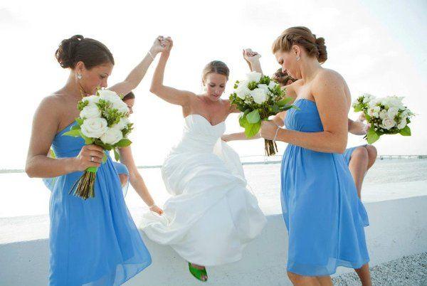 Tmx 1326334698873 BeckyandBridesmaids Narragansett, Rhode Island wedding florist