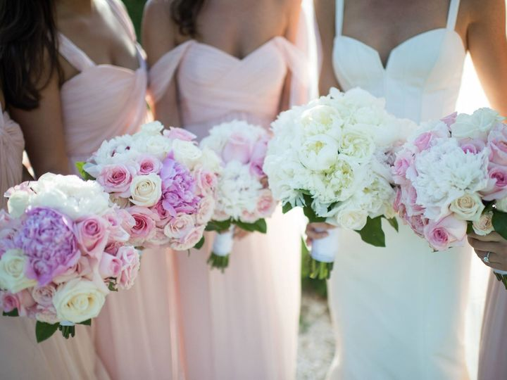 Tmx 1461699891633 Rosecliff Pink Bouquets Narragansett, Rhode Island wedding florist