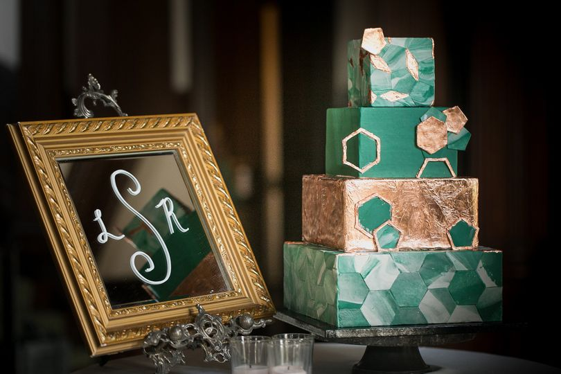 Oh Crumbs Bakery Wedding Cake Lebanon TN WeddingWire