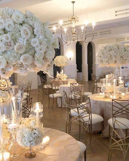 Classy cream interior