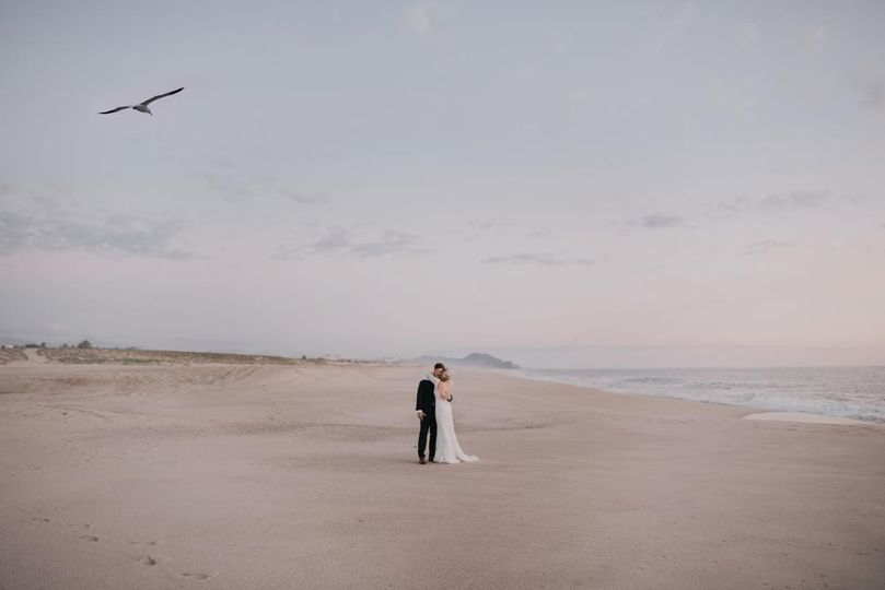 Beach Couple Portraits